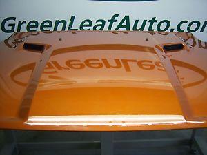 Dodge Challenger R T Hood Panel Scoops 2012 Factory Orange 12 Mopar Hemi