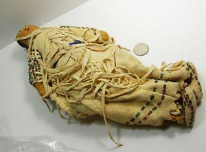 Native American Beaded Doll