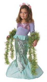 Toddler Girl Little Mermaid Princess Ariel Children's Halloween Costume New