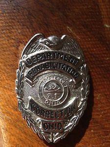 Ohio Department of Rehabilitation Corrections Badge