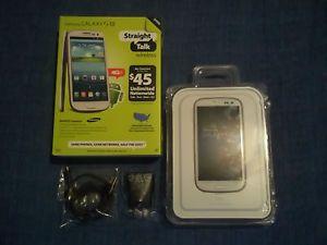 Straight Talk Samsung Galaxy S3 SIII Smart Phone Cell Phone