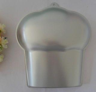 Sugarcraft Aluminum Chef Hat Fondant Cake Mold Pan Tins Baking Tool Decorating