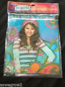 New Wizards of Waverly Place Selena Gomez Hallmark Party Supplies Free SHIP