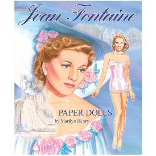 New Joan Fontaine Paper Dolls Marilyn Henry's Movie Fashion Collection