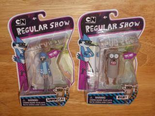 """Jazwares Cartoon Network Regular Show 3"""" Figures Mordecai Rigby"""
