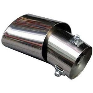 Car Stainless Steel Exhaust Muffler Modification Toyota VIOS 08