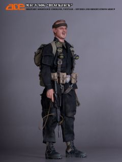 1 6 Action Figure Ace Toys Vietnam Macvsog Blackjack M127A Signal Flare x1 10