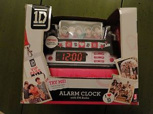1D One Direction 1D Digital Alarm Clock Radio New in Box