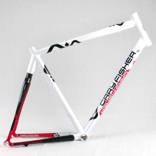 Gary Fisher Arc Pro Aluminum Carbon Road Bike Frame 57cm White Red