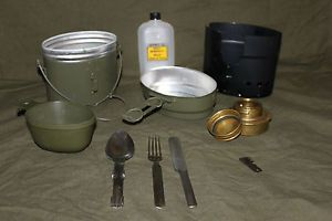 New Aluminium Swedish Army Trangia Mess Kit Complete as Originally Issued