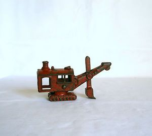 Cast Iron Steam Shovel Digger Construction Toy Antique Kenton Hubley Vehicle