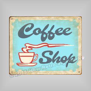 Coffee Shop Sign Kitchen Cafe Mocha Espresso Wall Decor