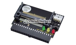 Dual CF to 40pin IDE Compact Flash Converter Adapter Card Bootable High Quality