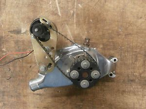 Big Block Chevy Moroso Chrome Water Pump Electric Water Pump Assembly