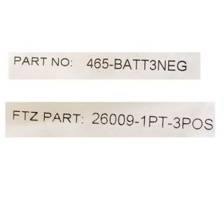 Standard Boat Battery Terminal Covers Set of 2