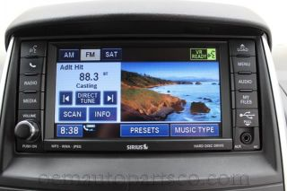Dodge Chrysler Jeep CD Player High Speed RBZ  Hard Drive DVD Unit Radio Mygig