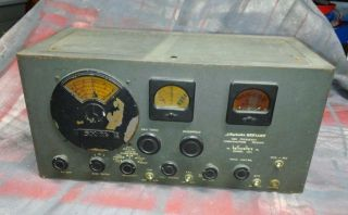 "Hallicrafters SX 24 ""Skyrider Defiant"" High Frequency Communications Receiver"