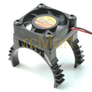 Yr Super Light Heat Sink w Cooling Fan for RC Car 540 Motors Ya 0259BK