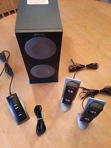 Altec Lansing Computer Speakers with Subwoofer and Desktop Controller
