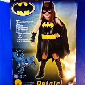 Girls Toddler Halloween Costume Batgirl Bat Girl Batman 2T New