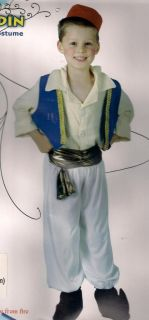 Childrens Aladdin Ali Baba Genie Nativity Play Costume