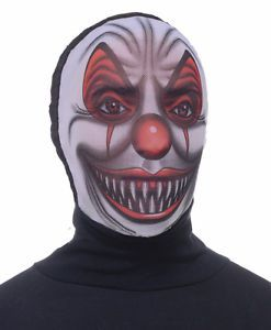 Scary Evil Clown Masks
