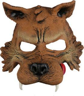 Big Bad Wolf Mask Storybook Adult Halloween Costumes