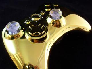 Gold Xbox 360 Controller Rapid Fire Mod Modded Cod MW3