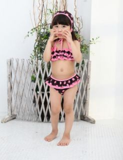 Girls Kids Swimwear Tankini Swimsuit Bikini Bathers size2 8Y Swiming Costume