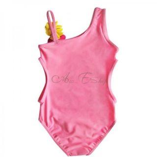 Girls Kid Princess Mermaid Barbie Monokini Swimsuit Swimwear Bathing Suit Sz 3 8
