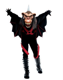The Wicked of oz Wizard Flying Monkey Adult Mens Costume Theme Party Halloween