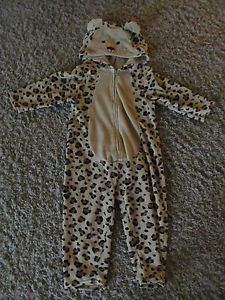 Baby Gap Cheetah Halloween Costume Toddler Boy Girl Size 2 Years