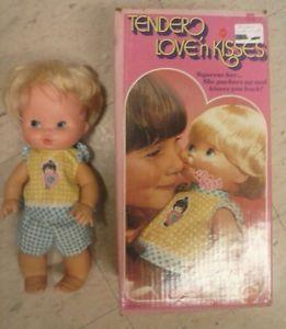 Baby Tender Love 'N Kisses Doll Mattel 1975 Vintage Kissing Original Clothes