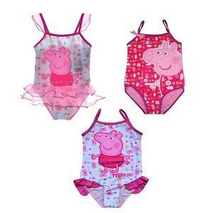 Baby Girls Peppa Pig Swimsuit 1 7Y Bikini Swimwear Bathing Swim Clothing Surfing