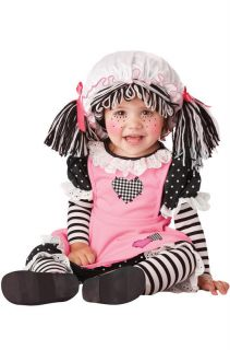 Raggedy Ann Baby Doll Infant Costume
