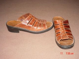 Womens Brown Sandals Size 10