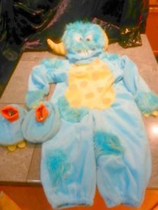 Sully from Pixar Monsters Inc A Monster Costume Size 9 12 Months
