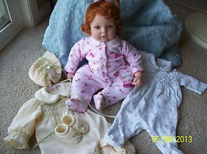 Adora Doll Lifelike Weighted Body Reborn Play Clothes Lot Red Hair Baby