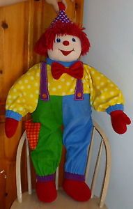 """2004 Gymboree Toddler Size 3' 36"""" Dance with Me Gymbo Huge Plush Clown"""