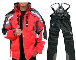 Winter Spyder Unisex Ski Clothing Snow Pants Warm Waterproof Sports