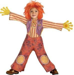 Toddler Deluxe Moe Doodlebops Halloween Costume 2 4T