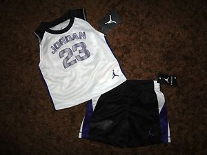 b7696a4f7810 Nike Air Jordan 23 Baby Boys Sz 18M Tank Top Short Outfit Set Clothes New