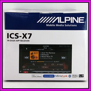 Alpine ICS x7 Bluetooth 7