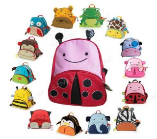 Children Kid Boy Girl Cartoon Animal Backpack School Shoulder Bag Cute Gift