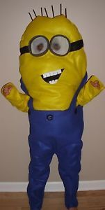 Minion Costume Despicable Me Toddler Kids Child Size Homemade Brand New