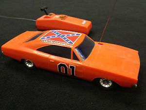 1980 Dukes of Hazzard Remote Control General Lee Working RC Car 1969 Charger