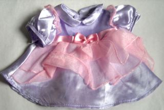 """Baby Doll Clothes 14 16"""" CPK Cabbage Patch Kids Lavender Pink Party Dress"""
