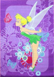 Disney Fairies 'Tinkerbell Tropical' Childrens Rug