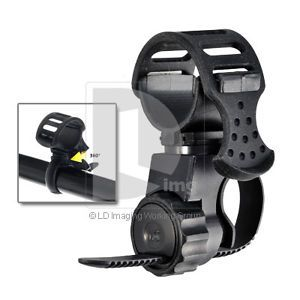 New 360° Bike Flashlight Mount Bicycle LED Light Holder Clamp Cycling Torch Clip