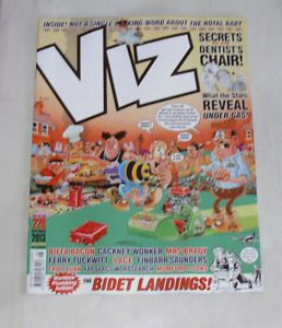 Viz Comic Magazine 228 Sep 2013 Bidet Landings Dentist Chair Secrets 8 Ace